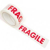 Printed FRAGILE Tape 48mm x 66m